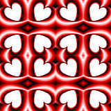 Design seamless heart pattern