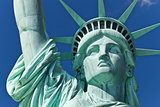 The Statue of Liberty the Detail