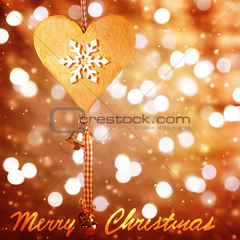 Christmastime greeting card