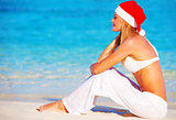 Christmas holidays on Maldives