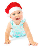 Little baby girl Santa