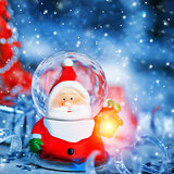 Cute Santa Claus toy