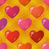 Valentine heart, seamless