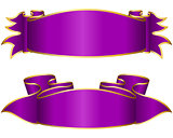 Violet ribbon collection