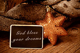 god bless your dreams