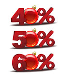 Percent discount icon
