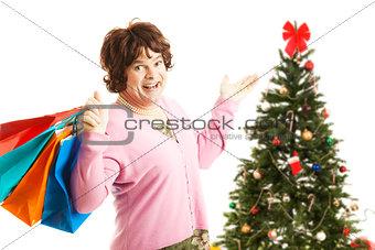 Cross Dresser - Christmas Shopping Spree