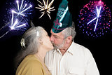 New Years Kiss at Midnight