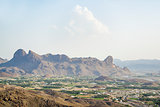 Landscape and mountains Oman