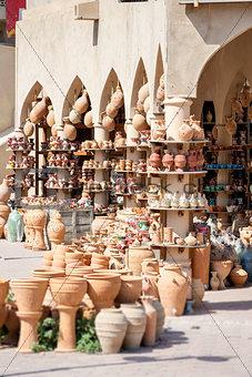 Pottery market Nizwa