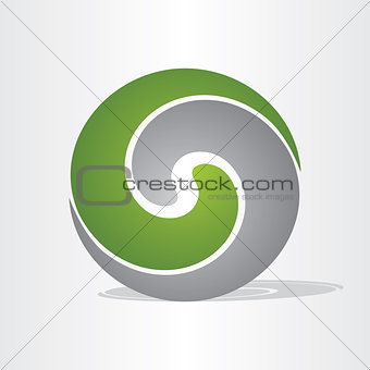 liquid plastic ball icon