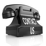 Black contact us phone