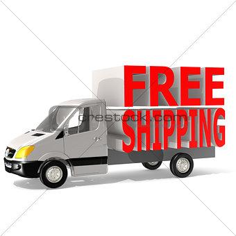 Free shipping van