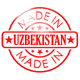 Made in Uzbekistan red seal