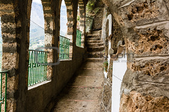 Monastery Corridor