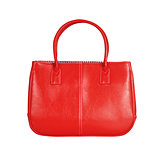 Red female bag