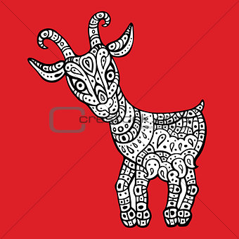 Goat 2015. Symbol of the new year.