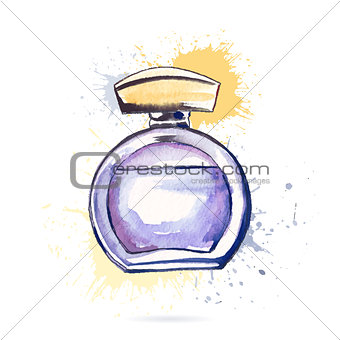 Beautiful perfume bottle.