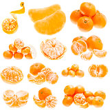 Fresh Mandarin Citrus Isolated Tangerine Mandarine Orange In Hea