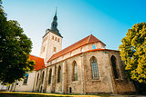 Medieval Former St. Nicholas Church In Tallinn, Estonia