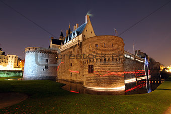 Castle of the Dukes of Brittany (Nantes - France)