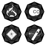 Badges coal industry-3