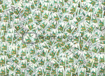 Altotting - German postage stamps