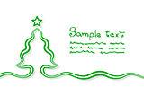 Elementary Christmas Card