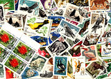 Nature. Soviet postage stamps