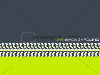 Tire advertising background design