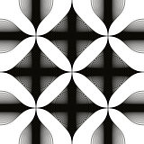 Black and white abstract seamless background, monochrome vintage