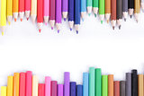 Colorful of pencils