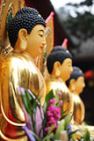 Chinese golden statue