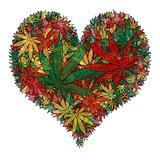Marijuana heart