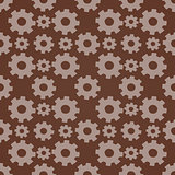 Seamless background with gears.