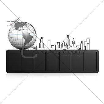 Blank travel board