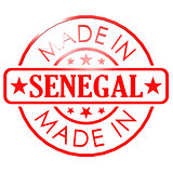 Made in Senegal red seal