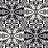 Black - white fractal pattern