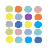 Abstract circles pattern  for your design