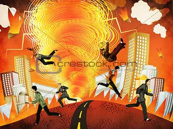 Apocalyptic tornado