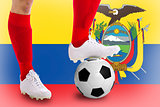 Ecuador soccer player