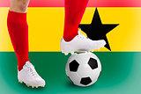 Ghana soccer player