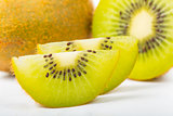 Kiwi Juice fruit isolated