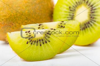 Kiwi Juice fruit isolated