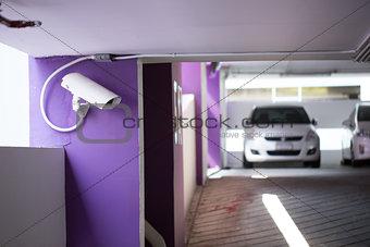 CCTV hang for check suitation