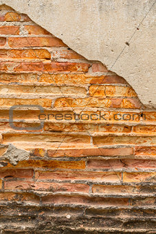 Close up Rock wall wtih background