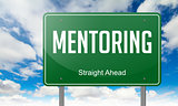 Mentoring on Highway Signpost.