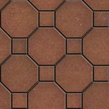 Brown Pavement, Seamless Tileable Texture.