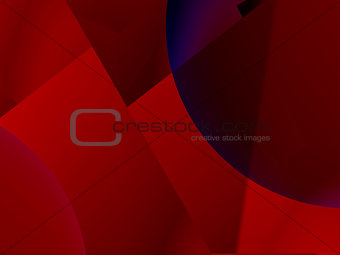 Abstract red decorative concept