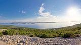 Kornati islands archipelago panoramic view
